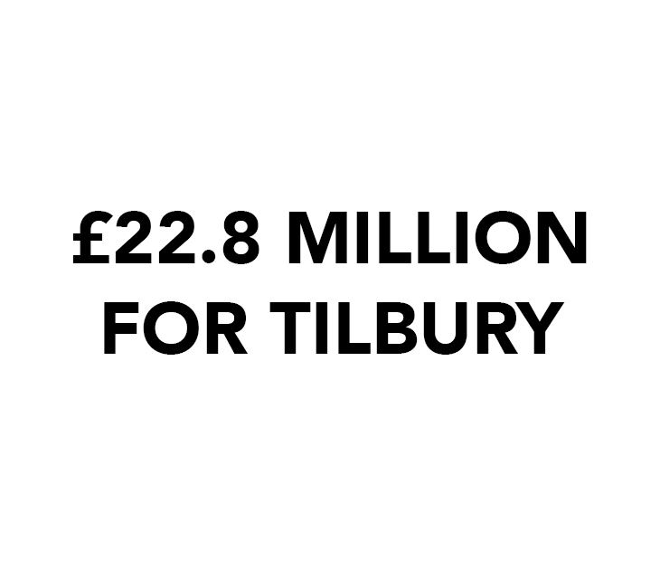 The transformational projects put forward in the bid have been shaped by residents and local businesses, people who live and work in Tilbury