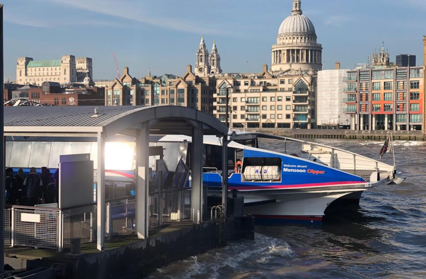 The Heritage – River Front – Thames Clipper Service