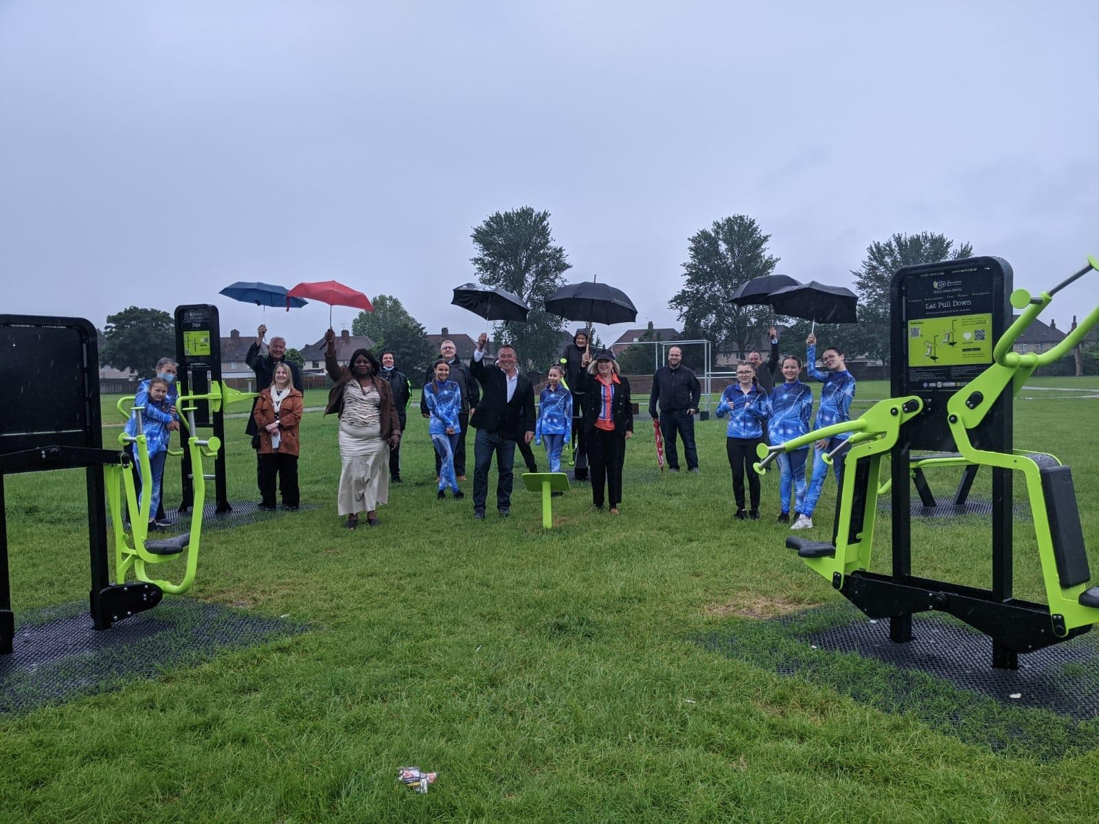 Tilbury Towns Fund Board unveil innovative outdoor equipment for Tilbury